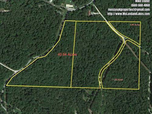 Nice 4.88 Acre Lot Close to Lake : Gravois Mills : Morgan County : Missouri