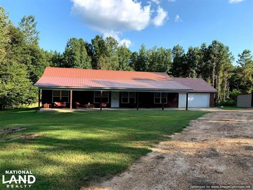 3 Year Old Home With Land in Teoc : Carrollton : Carroll County : Mississippi