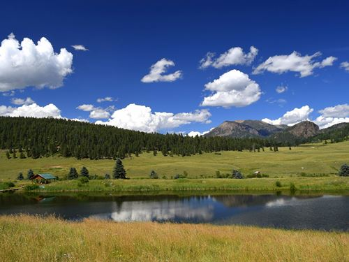 Hidden Lake Ranch : Pagosa Springs : Hinsdale County : Colorado