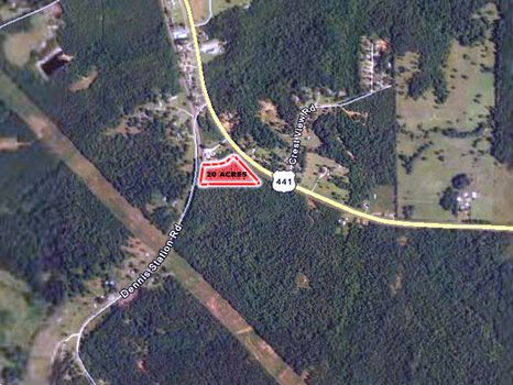 8.255 Acres : Eatonton : Putnam County : Georgia