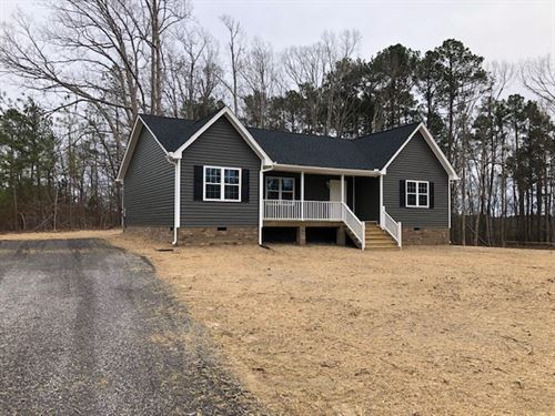 Brand New Home In Southern VA : McKenney : Dinwiddie County : Virginia
