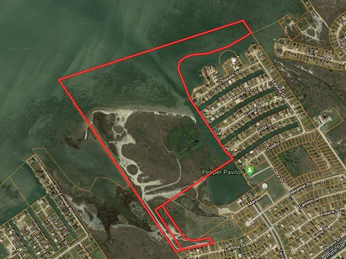 Rare Large Ac Tract : Galveston : Texas