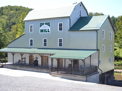 Sustainable Multi-Use Mill And Dam : Wytheville : Wythe County : Virginia