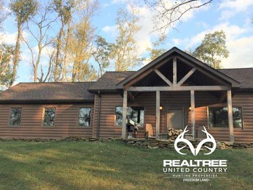 Turnkey Hunting Property, Cabin : Cadiz : Harrison County : Ohio