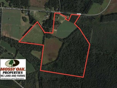 Under Contract, 112 Acres of Hun : Fayetteville : Cumberland County : North Carolina