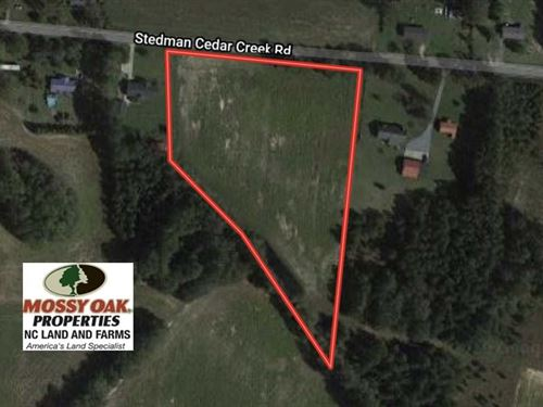 5 Acres of Agricultural Land : Fayetteville : Cumberland County : North Carolina