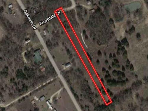 Unrestricted 1.33 Acres In McLennan : Elm Mott : McLennan County : Texas