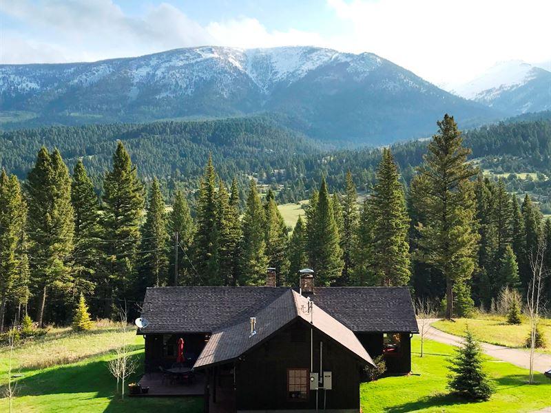 Jack Creek Retreat : Ennis : Madison County : Montana