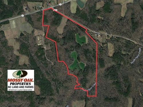 Under Contract, 105 Acres of Timb : Prospect Hill : Caswell County : North Carolina