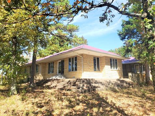 Classic Home & Land In The Ozarks : Ava : Douglas County : Missouri