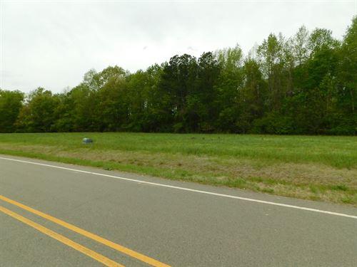 Tillery Pines Lot 4 : Tillery : Halifax County : North Carolina