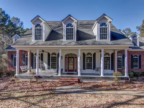 Beautiful 7.340 Acres With Home : Covington : Walton County : Georgia
