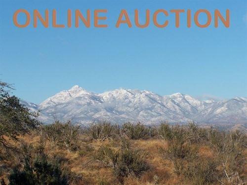 Residential Building Lot Auction : Sonoita : Santa Cruz County : Arizona