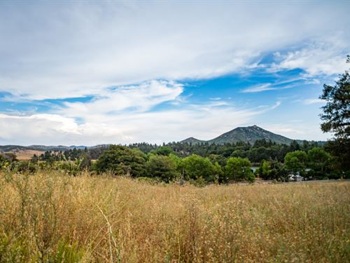 Property Near In Lake Cuyamaca, CA : Julian : San Diego County : California