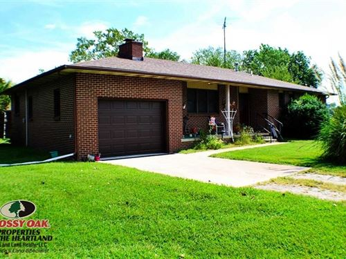 5 Acres of Peace And Tranquilit : Independence : Montgomery County : Kansas
