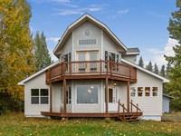 Beautiful, Custom Built Kasilof ho : Kasilof : Kenai Peninsula Borough : Alaska