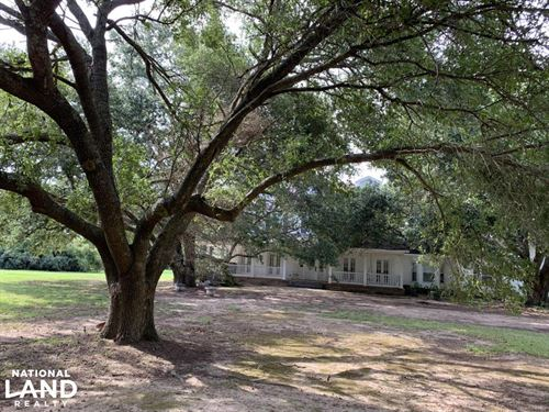 Gorgeous Home in Live Oak Setting : Winnsboro : Franklin Parish : Louisiana