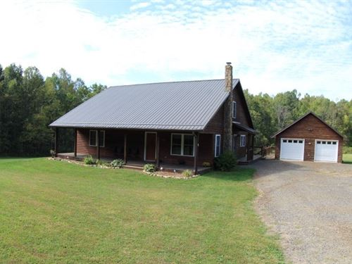 1.5 Story Home 4.12 Acres Located : Meadows Of Dan : Patrick County : Virginia