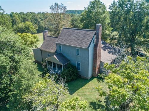 Historic MT Pleasant, 600 Acre : South Boston : Halifax County : Virginia