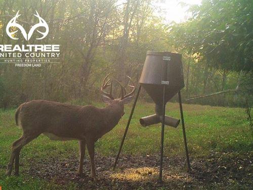 128 Acre Turnkey Hunting Property : Cadiz : Harrison County : Ohio