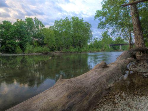 Missouri Ozark River Property : Richland : Pulaski County : Missouri