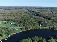 Oneida River Frontage And Acreage : Clay : Onondaga County : New York