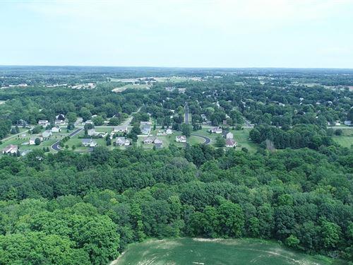 Hundreds Of Feet Along Beaver Creek : Farmington : Ontario County : New York