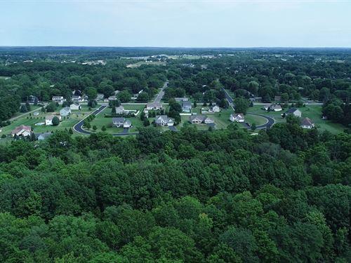 Tranquil 1,200' Along Beaver Creek : Farmington : Ontario County : New York