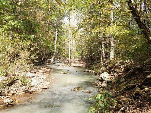 Huey Hollow 110 Acres : Natural Dam : Crawford County : Arkansas