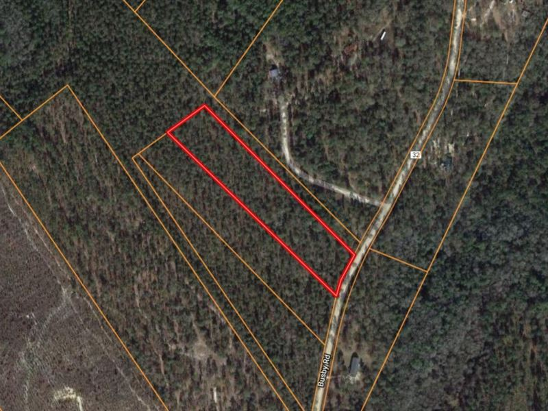 5-Acre Homesite Busby Road : Statesboro : Bulloch County : Georgia