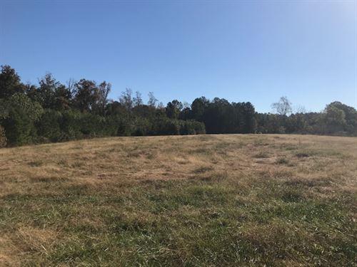 Large Pastured 15 Acre Lot : Pittsboro : Chatham County : North Carolina