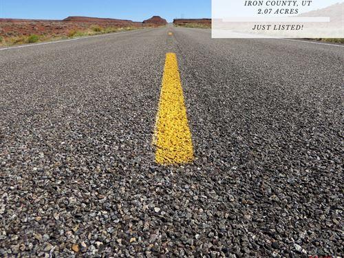 2.07 Acres In Iron County, Utah : Modena : Iron County : Utah