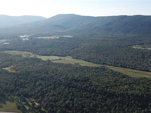 266 Acres Pasture And Timberla : Hartford : Sebastian County : Arkansas