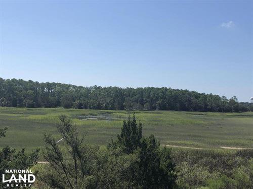 St, Helena Eddings Pt, Marsh, Wate : Saint Helena Island : Beaufort County : South Carolina