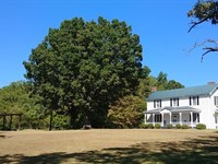 Plantation Style Home Farm : Ringgold : Pittsylvania County : Virginia