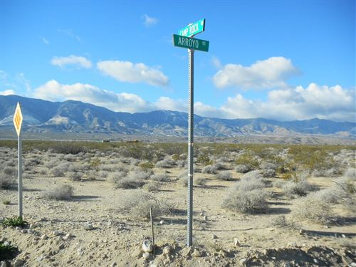 Beautiful Prime Lot, Power, $238/Mo : Lucerne Valley : San Bernardino County : California