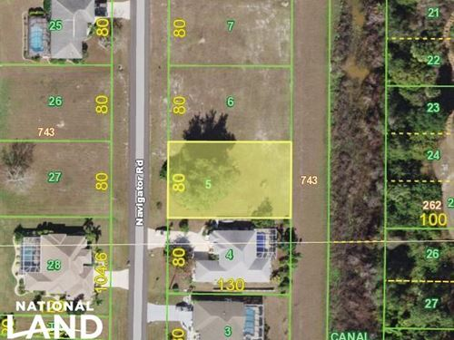 Nice Residential Lot in Punta Gorda : Punta Gorda : Charlotte County : Florida