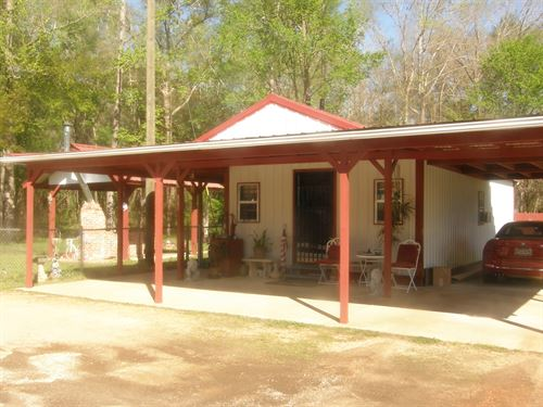 Tiny House : Sweet Water : Marengo County : Alabama