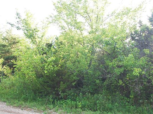 Perfect Lot in Tanglewood Lake : La Cygne : Linn County : Kansas