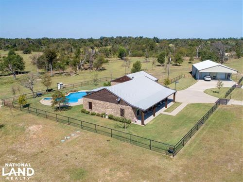 25 ac Pasture Land, Trees,Custom bu : Eustace : Van Zandt County : Texas