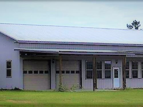 Alligator Creek Retreat : Lumber City : Wheeler County : Georgia