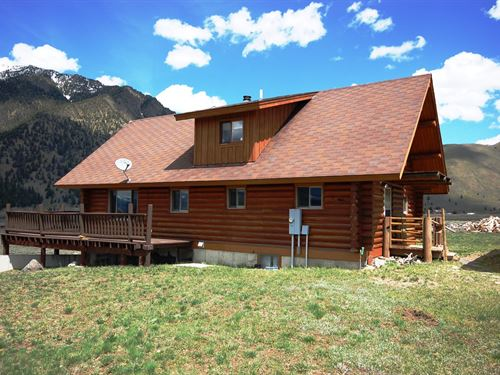 Sheep Creek Cabin : Cameron : Madison County : Montana