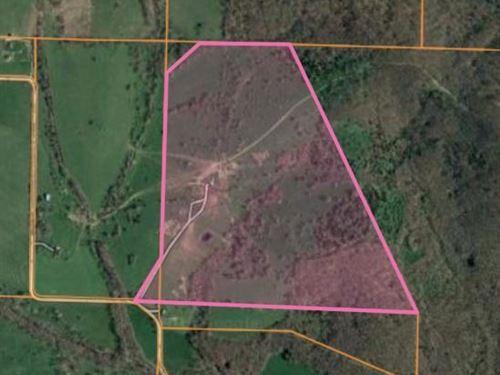 Land, Ponds, Well, Barn, Facilities : Mountain Grove : Texas County : Missouri