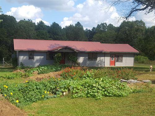 Missouri Mini-Farm For Sale : Mountain View : Howell County : Missouri