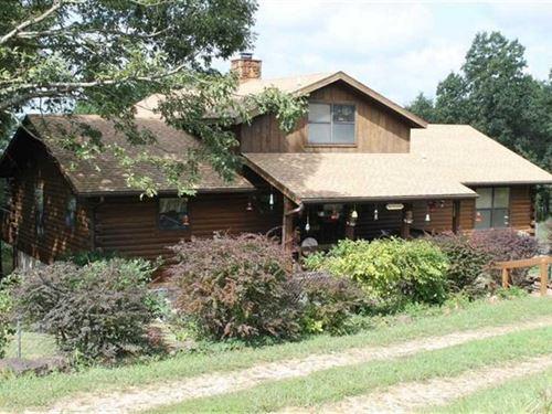 Log Cabin Near Buffalo National RI : Compton : Newton County : Arkansas