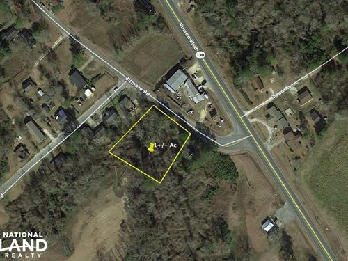 Whiteville Large Lot With Utilities : Whiteville : Columbus County : North Carolina