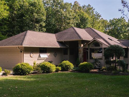 Stunning Country Home Floyd VA : Copper Hill : Floyd County : Virginia