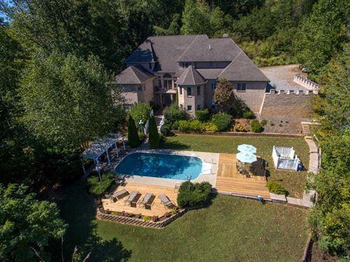 Turn-Key Bed & Breakfast Castle : Wirtz : Franklin County : Virginia