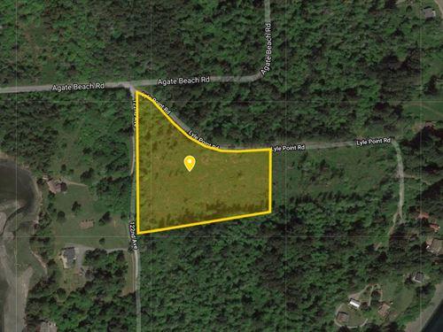 6.8 Acres For Sale in Anderson Isla : Anderson Island : Pierce County : Washington