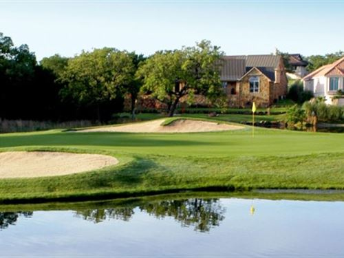 Golf Course Lot in TX Hill Country : Horseshoe Bay : Llano County : Texas